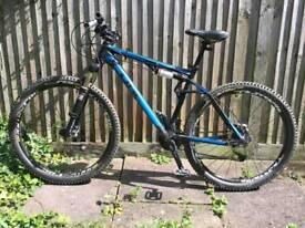 "Cube AMS 120 HPA 29"" mountain bike"