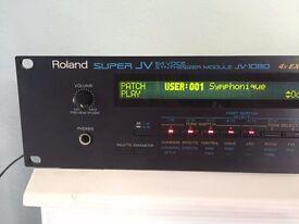Roland Super JV-1080 rack module VGC