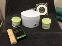 Beauty room equipment for sale. Wax pot plus extras.