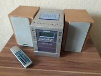 HITACHI AXM26 Stereo Micro System Micro Hi-Fi Shelf Tape Tuner Radio CD player