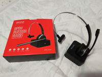 Mpow Bluetooth Headset with microphone