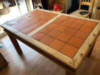Genuine Old Farmhouse Dining Table (seats 6) Chairs Not Included
