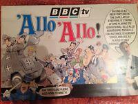 allo allo picture frame & rene and yvette record with Board Game