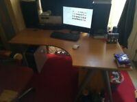 Large desk (adjustable height)