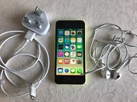 iPhone 5c 16gb yellow