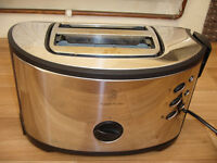 2 TOASTERS FOR SALE