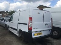 2008 CITROEN DISPATCH 1000 L1H1 SWB HDI 120 (MANUAL DIESEL)- FOR PARTS ONLY