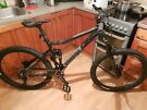 """Voodoo Canzo Full Suspension Mens Mountain Bike 18"""""""