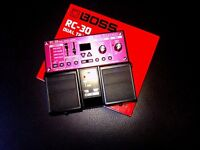 Guitar effects pedal- Boss RC-30