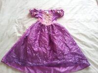 Used, Rapunzel dress, disney princess dress, Halloween witch dress x2 for sale  Joppa, Edinburgh
