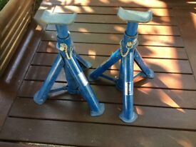 Pair of Draper axle stands