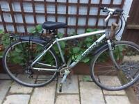 "Men's 20"" Ridgeback hybrid bike bicycle. Delivery & D lock available"