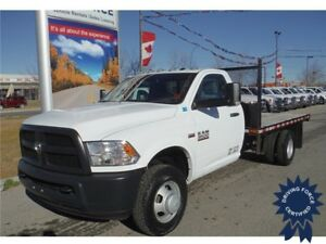 2016 Ram 3500 ST Regular Cab 4WD - Gas - 12 Ft Flat Deck