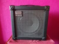 Combined 30 or 2 watt guitar amplifier