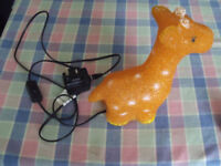 table lamp animal childs - giraffe lamp