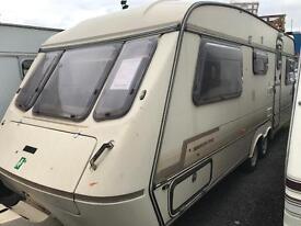 Elddis 4 berth end bedroom twin axle swift abi caravan CAN DELIVER over 100 in stock