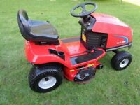 "Ride on lawnmower Toro xls 380 38"" cut, mulch/ side dis, hydrostatic drive, 16hp 25hrs from new"