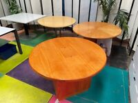 Circular Solid Wood Home Office/120cm Diameter Meeting Table/ Table/W120 x h74cm/Round Desk
