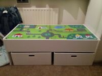 Toy box unit
