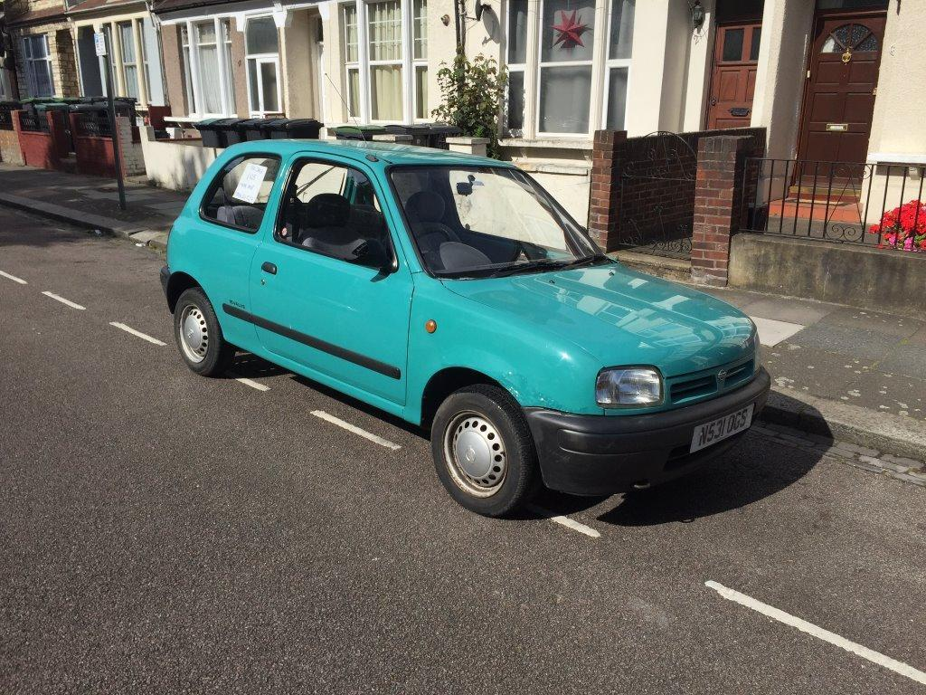nissan micra automatic n reg 1995 in muswell hill london gumtree. Black Bedroom Furniture Sets. Home Design Ideas