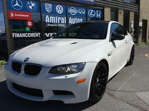 2011 BMW M3 *SMG,Carbon Pack, Cuir Merino Rouge, Navigation*