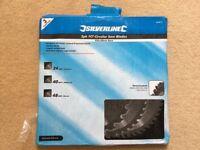 Genuine Silverline 3 Pack TCT 235mm Circular Saw Blades 973912
