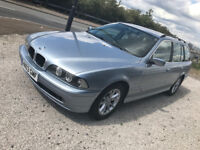 BMW 5 Series Automatic Se Touring Estate Auto Low mileage E39 long MOT Aug18 Bluetooth PX swap