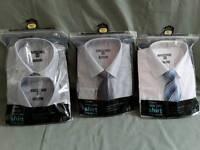 4 Unused Mens Shirts 16.5 regular