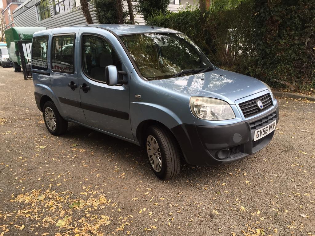 Fiat doblo wheelchair access vehicle