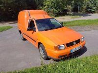 VOLKSWAGEN CADDY 1.9D 03 2003 ex rac orange