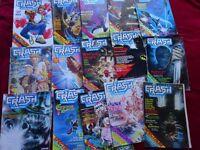 CRASH MAGAZINE JOB LOT 16 ISSUES (1984-89)