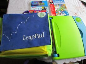 Leapfrog Blue Leappad - Blue Leappad -Leappad Special Bag, 4 Games and 4 Coordinating Books