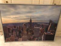 Large frame Ikea New York Canvas