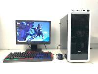 Gaming Computer PC Setup (Intel i7 3770, 8GB RAM, 500GB, GTX 760 2GB Nvidia) for sale  Castledawson, County Londonderry
