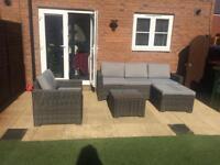 Rattan Garden Furniture with Cushions