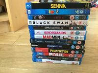 DVDs blu ray 13pcs