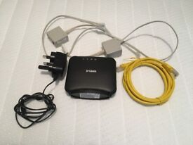 D-Link DSL-320B ADSL2+ modem