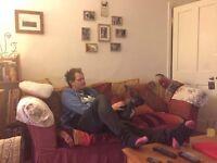 Red Sofa - NEEDS TO GO ASAP