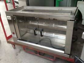 CHICKEN ROTISSERIE GAS MACHINE CATERING COMMERCIAL RESTAURANT CAFE KEBAB TAKE AWAY SHOP BBQ