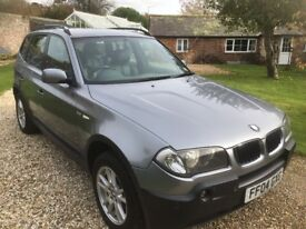 BMW X3 2004 2.5 manual ( 6 speed) stunning condition FSH great colour combination stunning !!