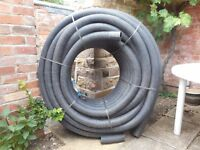 Drainage pipe 75mtrs, 80mm flexible non-perforated