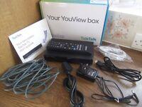 Talk Talk YouView DN360T set top box