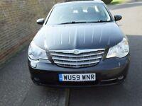 2009 Chrysler Sebring Auto, Dual fuel (Petrol + LPG), Full Leather, Sat Nav, MOT + Tax £2245 ono
