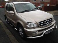 Mercedes ml 270 cdi 2003 4x4