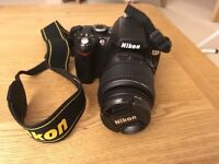 like new Nikon D60 with AF Nikkor 18-55 - mint condition