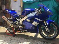 Yamaha R1 4xv 1999 model