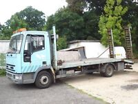 "IVECO NEW CARGO BEAVER TAIL RECOVERY 2000 ON A ""V"" PLATE"