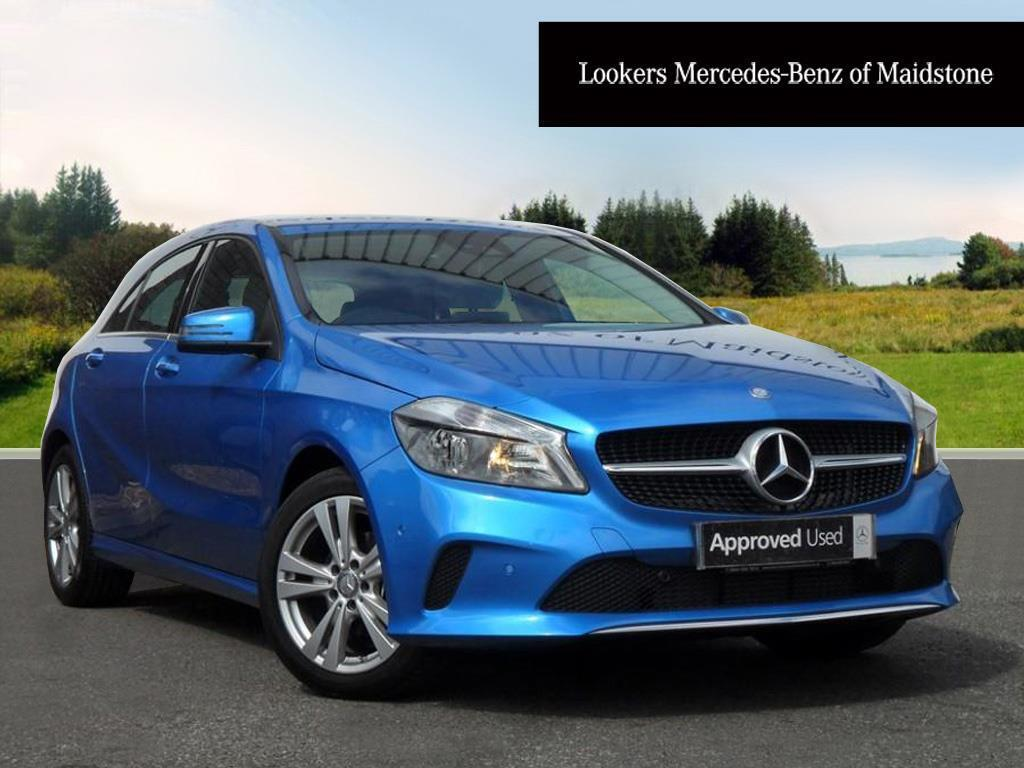 mercedes benz a class a 180 d sport executive blue 2017 06 06 in maidstone kent gumtree. Black Bedroom Furniture Sets. Home Design Ideas