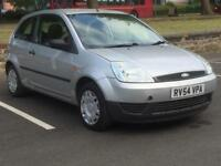 FORD FIESTA 2005(54 REG)£999 *LONG MOT*SERVICE HISTORY*LOW MILES*CHEAPCAR TO RUN*PX WELCOME*DELIVERY