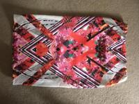 Midi summer pencil skirt